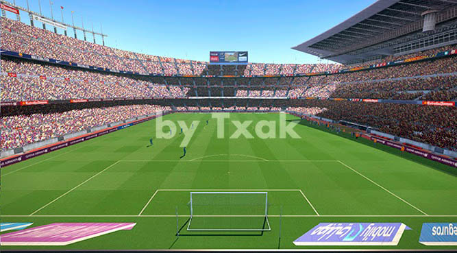 Стадион Камп Ноу для Pes 2015