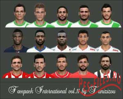 PES 2014 Facepack International vol. 11