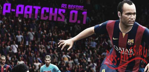 PES 2015 P-Patchs HQ AsBefore version 0.1
