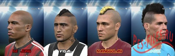PES 2015 Facepack + Tattoo
