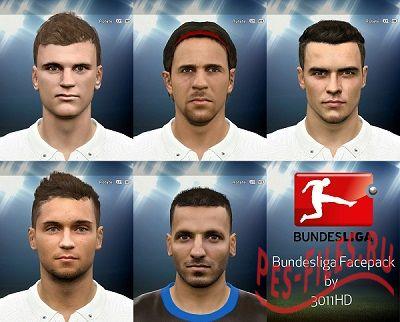 PES 2015 Bundesliga Facepack