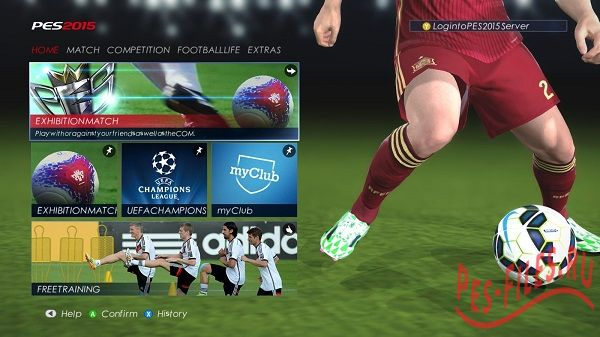 Pes 2015 New Font Century Goth...