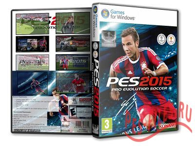 Pro Evolution Soccer 2015 [Update 1] (2014) PC