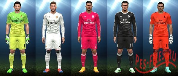 Kits Real Madrid 2014/15