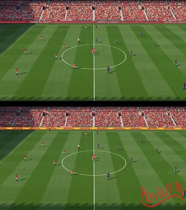 PES2015 Animated Adboard of Manchester United