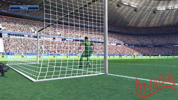 Pes 2015 goal nets PS4 update 4