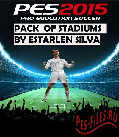 PES 2015 Pack of Stadiums & Adboard