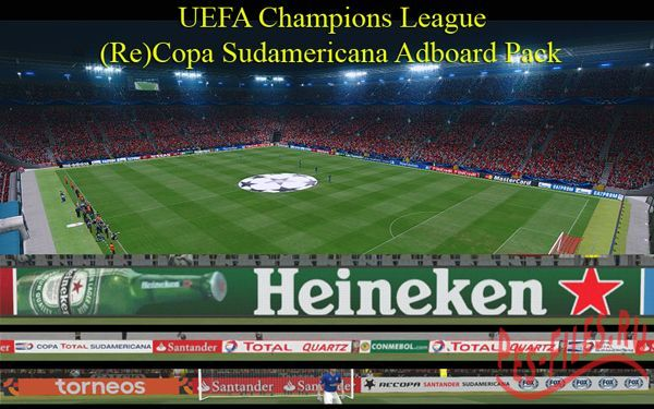 UEFA Champions League / (Re)Copa Sudamericana Adboard Pack