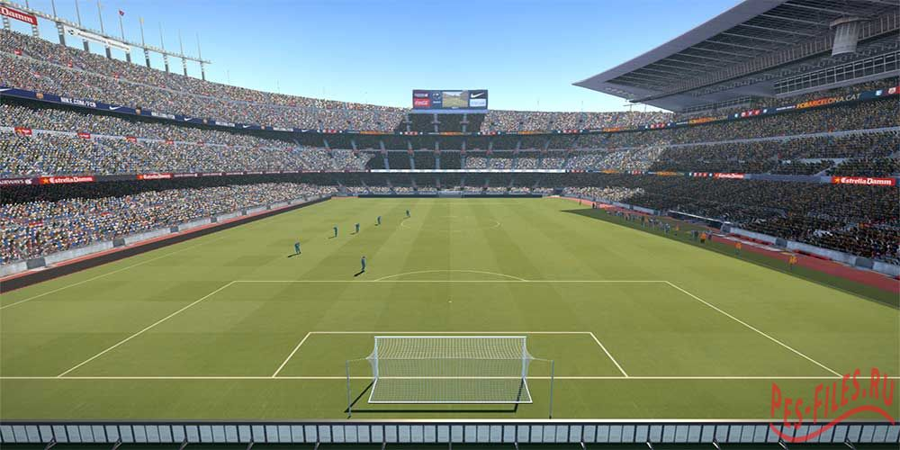 New stadiums Pack PES 2015