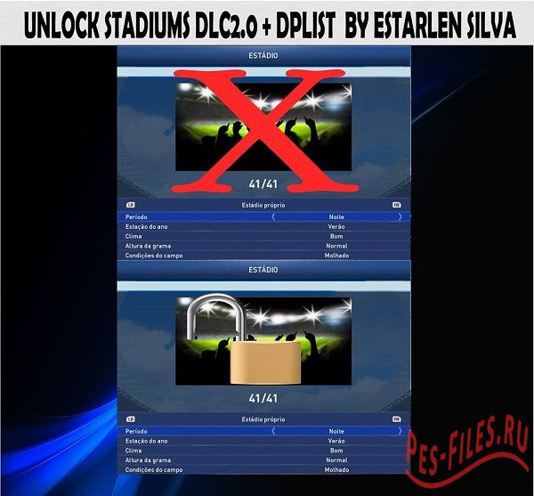 Unlock Stadiums DLC2.0 + FIX S...