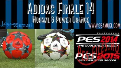 Adidas Finale 14 For PES 2015 and 2014
