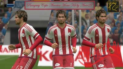 Pes 2015 Paraguay Copa America Home Kit