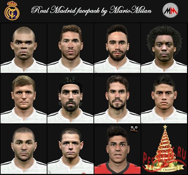 Real Madrid Pack