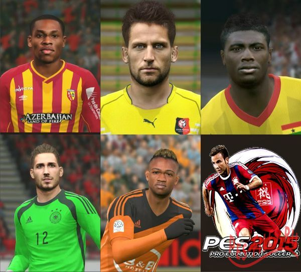 Pes 2015 Face Pack Vol.16