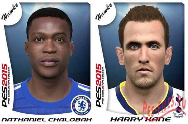 Nathaniel Chalobah & Harry Kane face