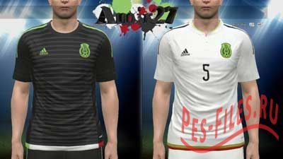 Mexico Copa America Kit Set