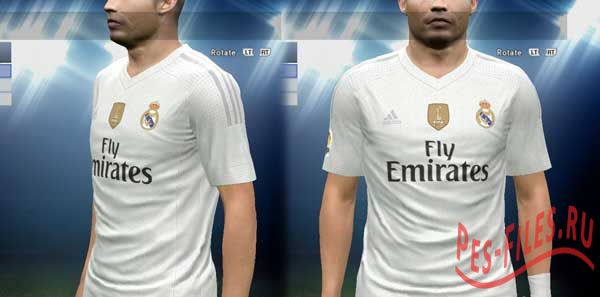 Real Madrid Home Kit 2015-16