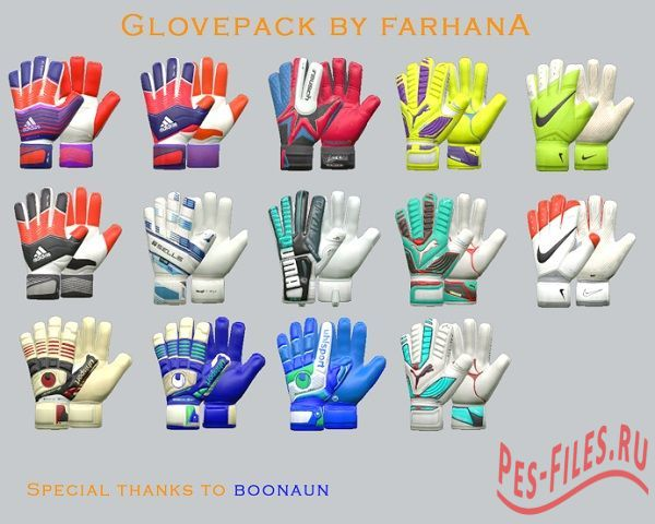 Gloves pack v1