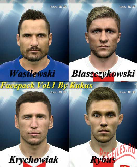 Pes 2015 Face Pack Vol.14