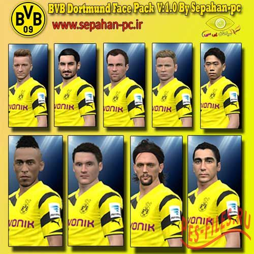 BVB Dortmund Face pack