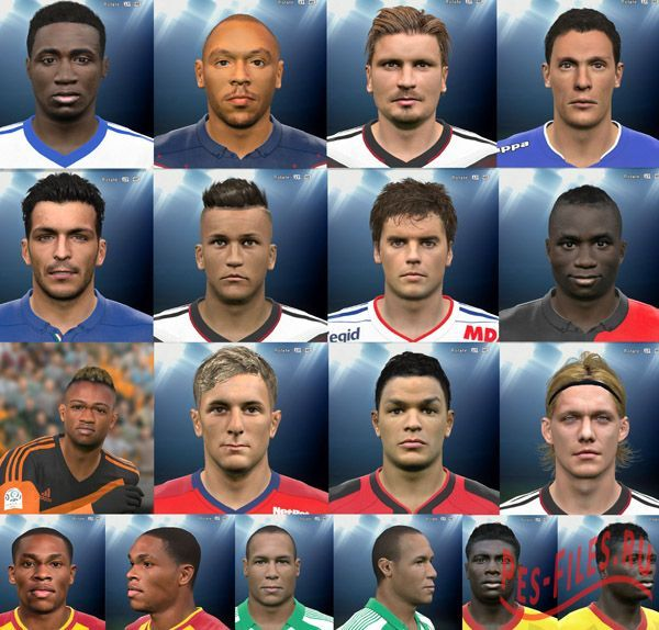 Face Pack PES 2015