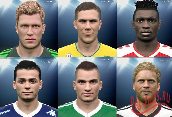 Mini Facepack PES 2015