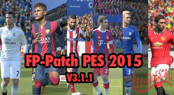 FP-Patch PES 2015 v3.1.1