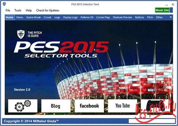 PES 2015 Selector Tool Version v2.1 (Fix)