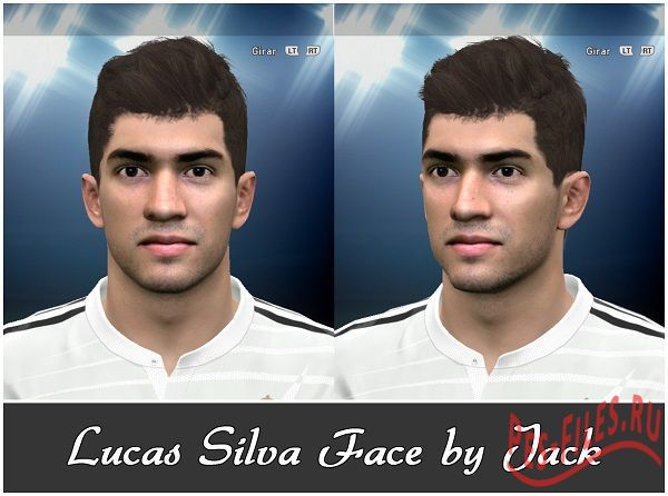 PES 2015 Lucas Silva Face