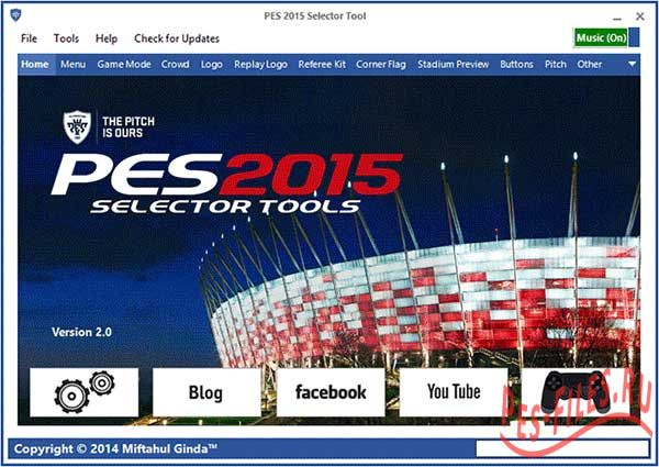PES 2015 Selector Tool Version 2.0