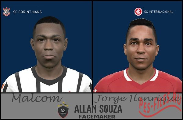 JORGE HENRIQUE and MALCOM PES 2015