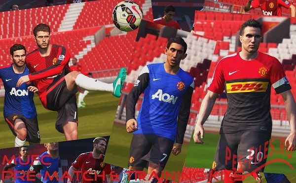 MUFC Pre-match & Training kits pack
