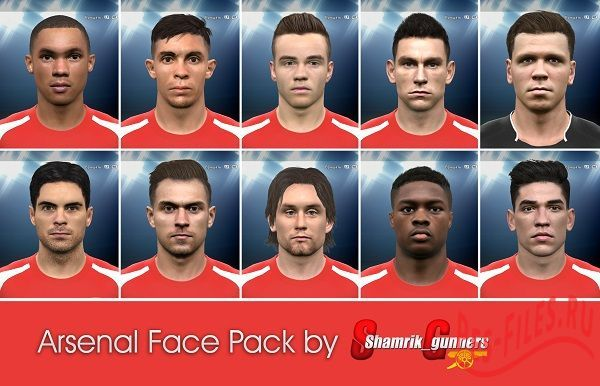 Arsenal Face Pack