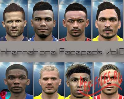 Pes2015 international Facepack Vol 1.0