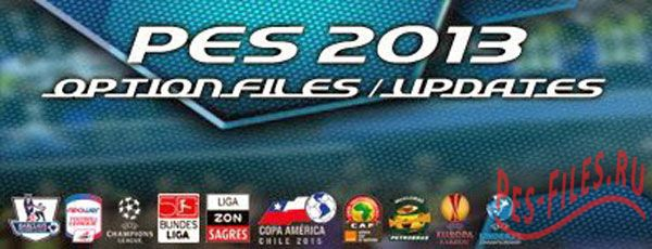 PES 2013 PESEDIT Patch 6.0 Option File UPDATED