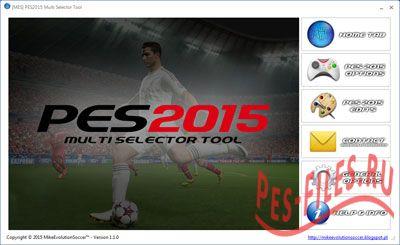 PES 2015 Multi Selector Tool Version 1.1.0