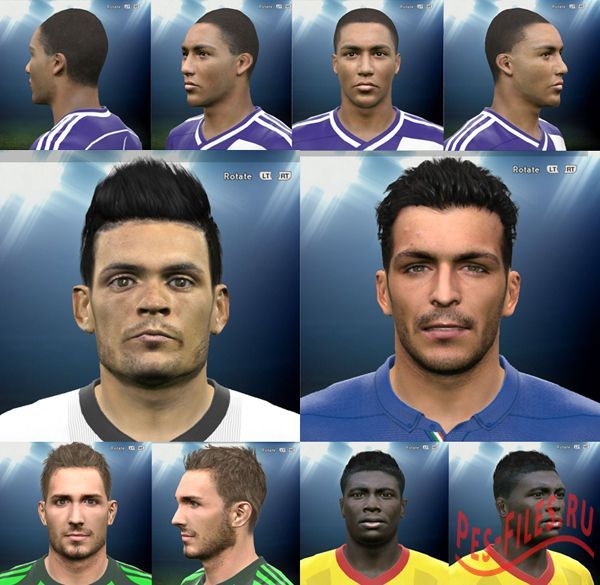 Pes 2015 Face Pack Vol.13