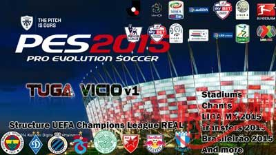 PES 2015 PC Patch Tuga Vicio v1.0