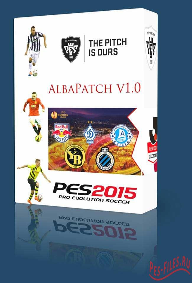AlbaPatch v1.0 For PES2015
