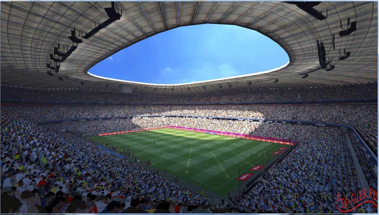 Stadiums V3 + fix + New Turfs
