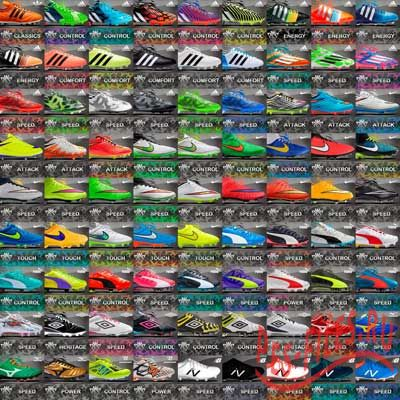 PES 2013 Actual Collection of Boots v.1