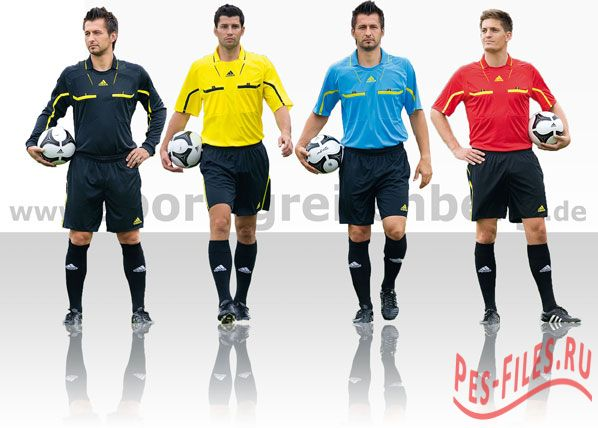 Referee Kits Pack v2 - all League + UCL + ACL