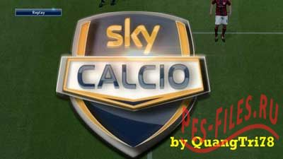 PES 2015 SKY calcio Replay Logo