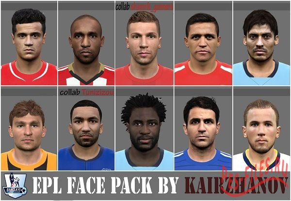EPL face pack vol.3