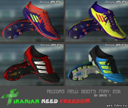 Adidas New Bootpack for PES2011
