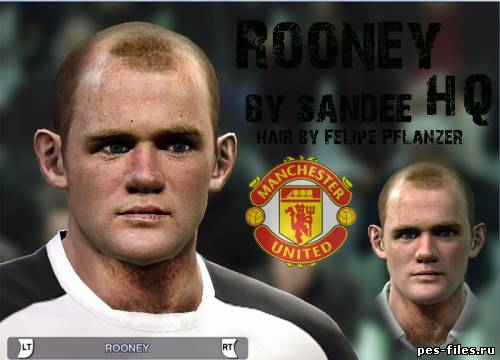 Pes 2011 Rooney Face