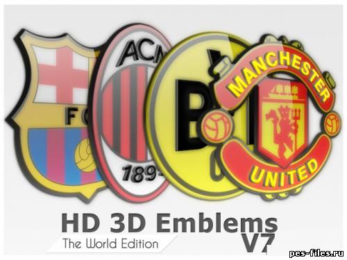 HD 3D Emblems The World Edition V7
