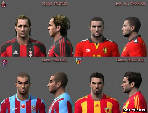 Pes 2011 Facepack by Fatih_Dlc