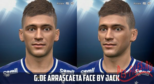 De Arrascaeta Face