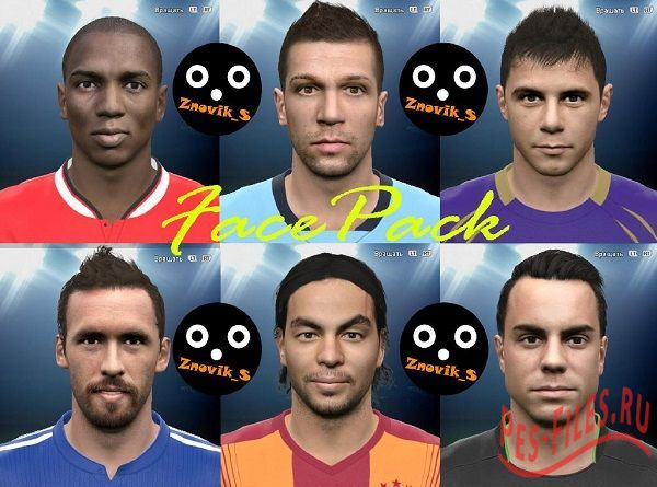 PES 2015 new FacePack